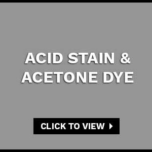 ACID STAIN & ACETONE DYE